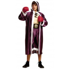 Kostým Boxer vínový