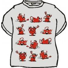 Tričko Šukající čertíci