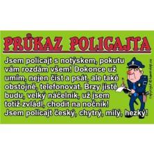 Průkaz Průkaz policajta