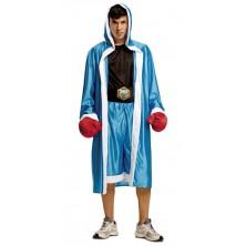 Kostým Boxer modrý
