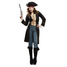 Kostým Pirátka fashion deluxe