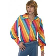 Košileve stylu disco - hippie