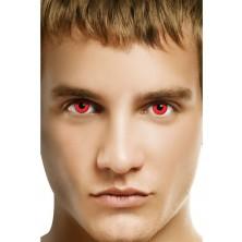 Oční čočky Bloody red