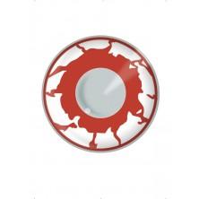Oční čočky Zombie Red