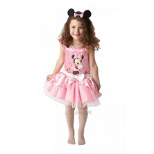 Dětský kostým Minie Mouse balerína růžová