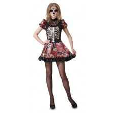Kostým Den mrtvých panenka