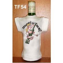 Tričko na flašku Troufneš si na mě?