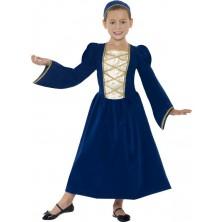 Dětský kostým Tudor princess