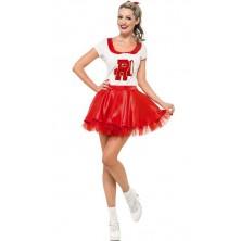 Kostým Sandy Cheerleader Pomáda