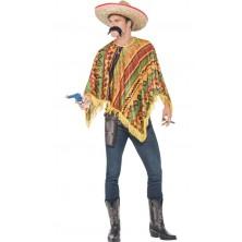 Mexický kostým  - Poncho