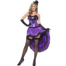 Kostým Burlesque fialová