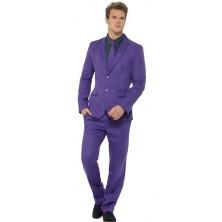 Kostým Fialový oblek