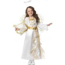 Dětský kostým anděla se svatozáří