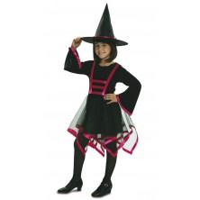 Dětský kostým malá  čarodějnice