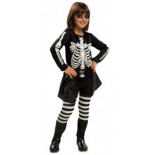 Dětský kostým Kostlivka 3