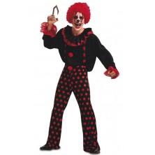Kostým  klaun na Halloween