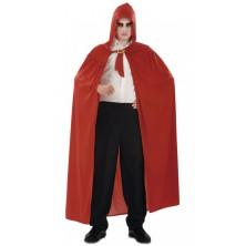Plášť s kapucí červený II