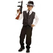 mafiánský kostým pro děti