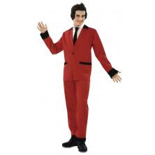 Kostým Rockabilly červený