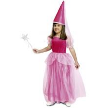 Dětský kostým Růžová víla