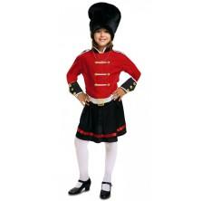 Dívčí kostým Britská garda