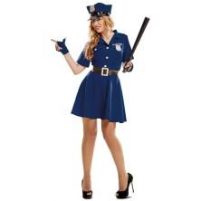 Kostým Policistka modrá