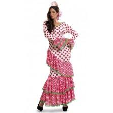 Kostým Tanečnice flamenga červená
