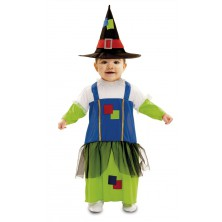 Dětský kostým Čarodějnice 4