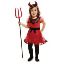 Dětský kostým Čertice s rohy