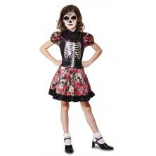 Dětský kostým Kostlivka 1