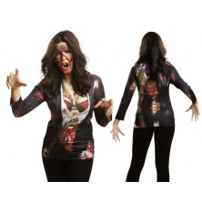 Tričko 3D Zombie girl