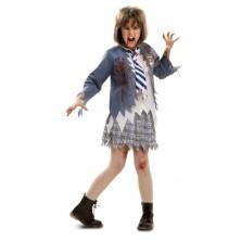 Dětský kostým Zombie školačka I