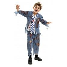 Dětský kostým Zombie školák I