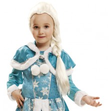 Dětská paruka Ledová královna -paruka frozen