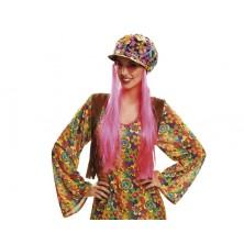 Čepice Hippie s vlasy