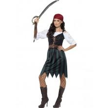 Dámský kostým Pirátka I
