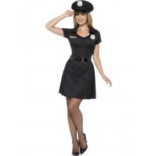 Kostým Policistka-šaty a čepice