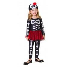Dětský kostým Kostlivka 2