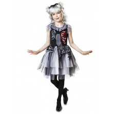 Dětský kostým Zombie dáma