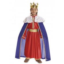 Dětský kostým Tři králové červený