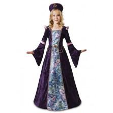 Dívčí kostým Levandulová dáma