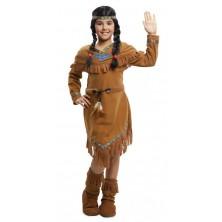 Dětský kostým Indiánka se vzory
