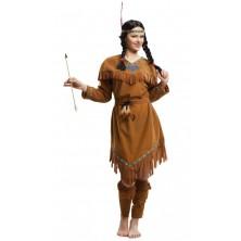 Kostým Indiánka se vzory