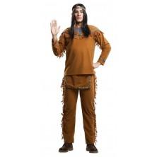 Kostým Indián se vzory