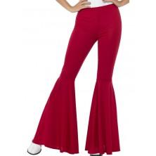 Kalhoty Hippie, dámské červené