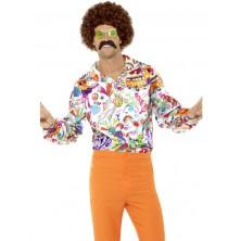 Košile Hippie barevná