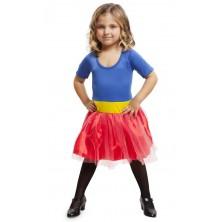 Dětský kostým Superhrdinka modrá