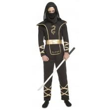 Pánský kostým Černý Ninja