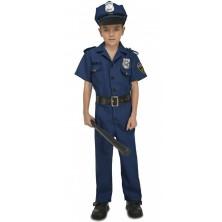 Dětský kostým Policista s čepicí