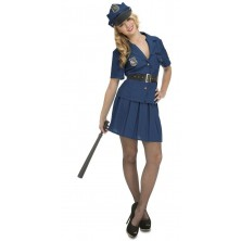 Kostým Policistka s čepicí